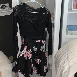 2 PIECE HOCO DRESS NORDSTROM